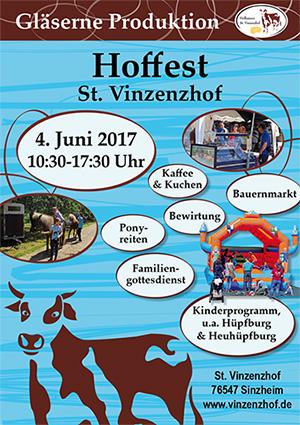 Hoffest 2017 auf dem Vinzenzhof in Sinzheim