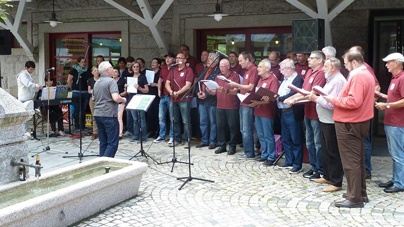 Ausflug des GV Fremersberg zur Rothaus Brauerei Schwarzwald