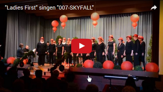 Ladies First singen 007 skyfall