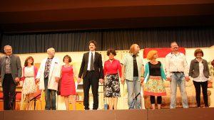 Darsteller beim Theaterabend November 2016