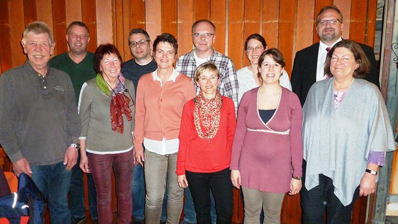 Vorstand des GV Fremersberg Sinzheim 2017