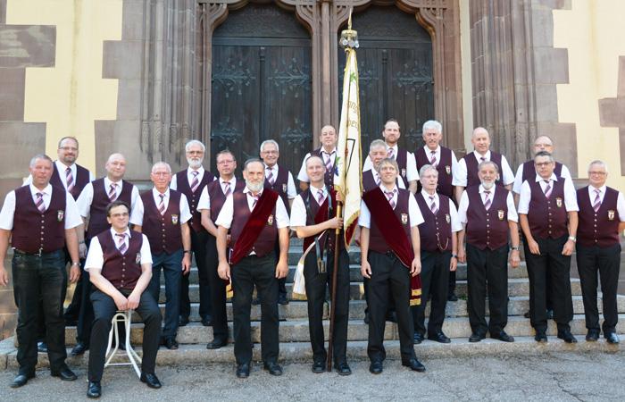 Männerchor des GV Fremersberg Sinzheim 2018