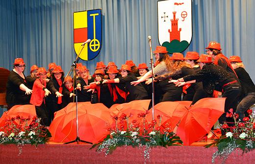 Frauenchor beim Sinzheimer Neujahrsempfang 2019